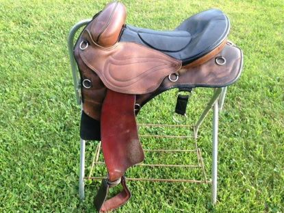 Picture of Western Sensation Treeless Saddle, SOLD